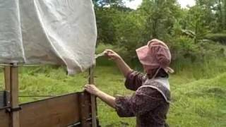 Pioneer Wagon(Close look at a covered wagon and the way pioneer women would dress., 2011-06-21T00:44:07.000Z)