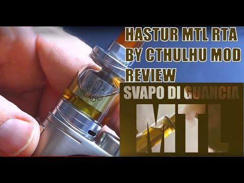 HASTUR MTL RTA - CTHULHU MOD - REVIEW