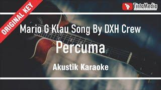 Download percuma - mario g klau song by DXH Crew (akustik karaoke)