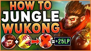 #1 WUKONG WORLD HOW TO DESTROY LEE SIN IN THE JUNGLE (IN CHALLENGER) - League of Legends