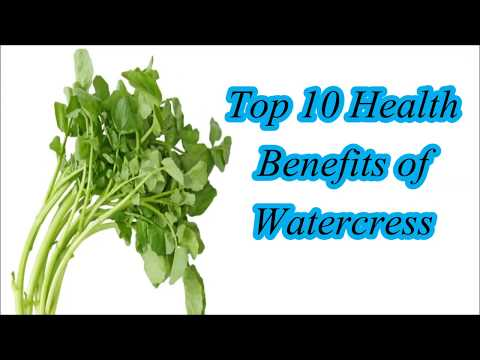 Top 10 Health Benefits of Watercress