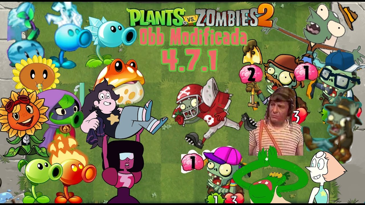 Plants vs zombies 2 obb modificada 471 youtube plants vs zombies 2 obb modificada 471 voltagebd Gallery