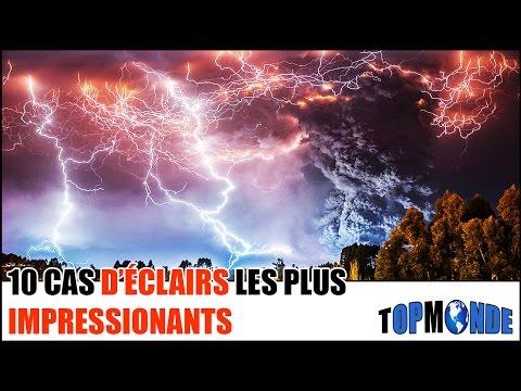 10 Cas D'ÉCLAIRS Les Plus IMPRESSIONNANTS