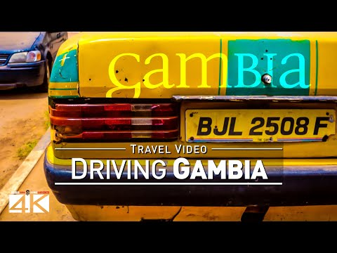 【4K】15 MINUTES | Driving The Gambia (West Africa) | 2020 | B