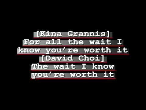 David Choi & Kina Grannis -- The Way You Are Lyrics.avi