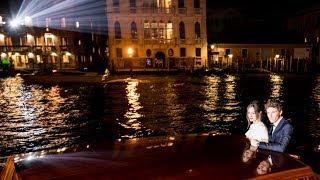 Eddie Redmayne celebrates OMEGA Seamaster Aqua Terra in Venice
