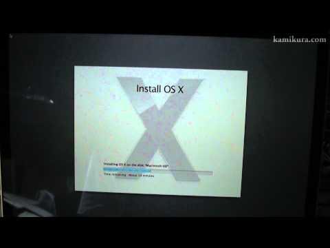 Installing OS X Mountain Lion unabridged