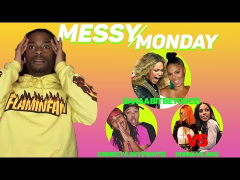 DRAMA ALERT! ! ! D Brezzy&Sky  FIGHT , Sanaa bites Beyonce, Bamabii SPAZZED OUT| MessyMonday