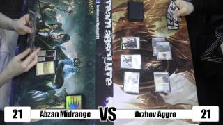 "Mtg - Khans Of Tarkir ""built From A Box"" Round 2: Abzan Midrange Vs Orzhov Aggro"