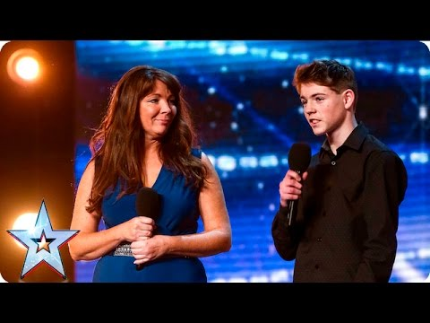 Mel and Jamie bring their special bond to BGT  Auditions Week 7  Britain's Got Talent 2016