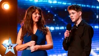 Mel and Jamie bring their special bond to BGT | Auditions We...
