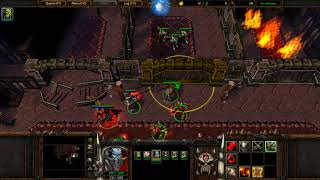 WarCraft 3: Reign of Chaos part 54 - Skeleton Lord, Aszune and her Heart