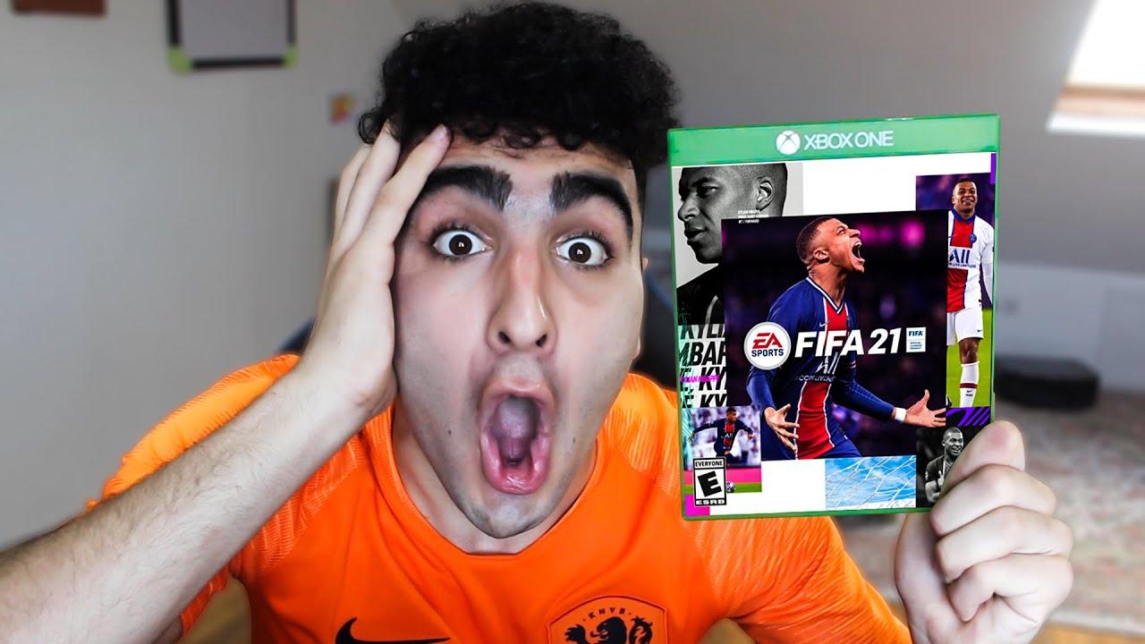 OMG I GOT FIFA 21 EARLY!?