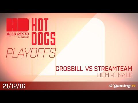 Grosbill Esports vs Streamteam - HotDogs Demi-Finale - League of Legends
