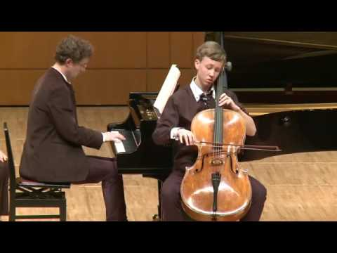 Jonathan Roozeman | Schubert | Sonata for Arpeggione & Piano | 2013 Gaspar Cassado Cello Comp