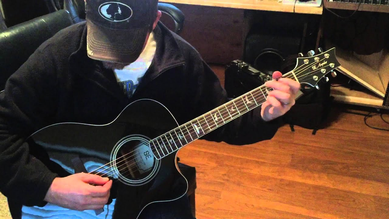 prs se angelus a10e short demo youtube