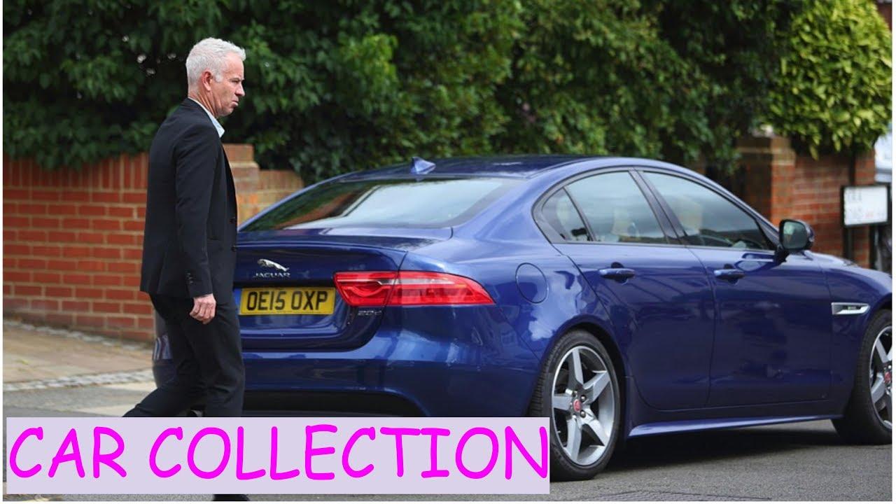 Photo of John Mcenroe  - car