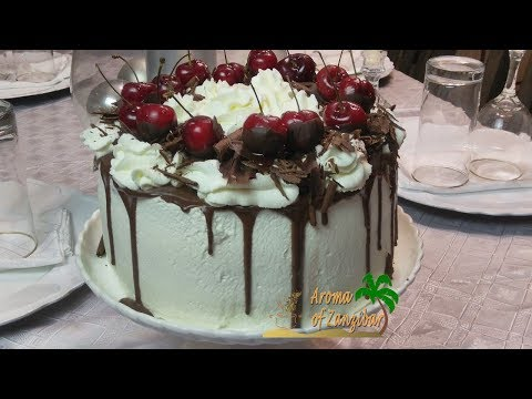 BLACK FOREST CAKE IN ENGLISH