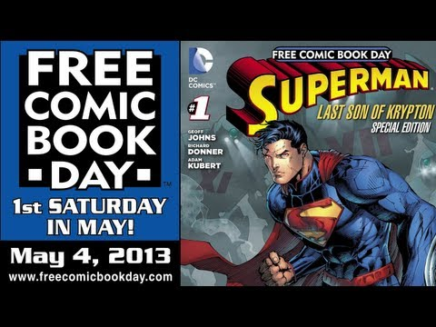 Unboxing Free Comic Book Day 2013 at Stadium Comics - see all the free books here! FCBD