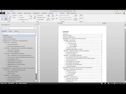 Rédaction PFE - Projets de Fin d'Études