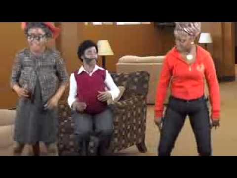 Granny apple bottom jeans lol - YouTube