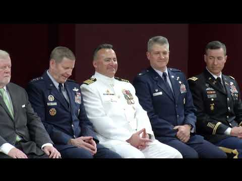 2018: ROTC Commissioning Ceremony