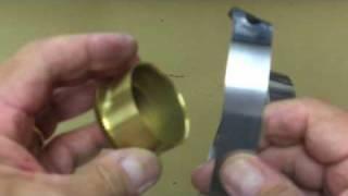 Installing a clock mainspring