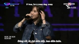 [Engsub + Vietsub] Yezi - Crazy Dog cut @ UNPRETTY RAPSTAR 2 Ep 3