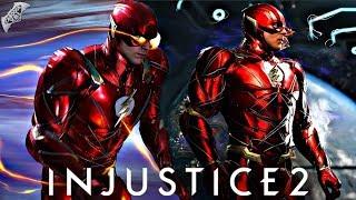 Injustice 2 Online - CRAZY 670 DAMAGE FLASH COMBO!