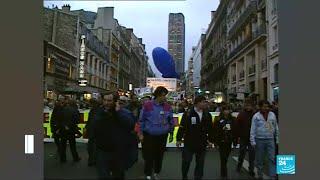 France national strike bears comparisons with the November 1995 shutdown