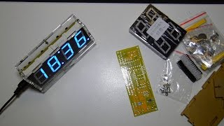 Review | Banggood Diy 4 Digit Led Electronic Clock Kit | German