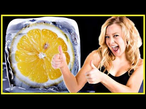 НЕВЕРОЯТНЫЕ СВОЙСТВА замороженных лимонов для КРАСОТЫ и ЗДОРОВЬЯ.