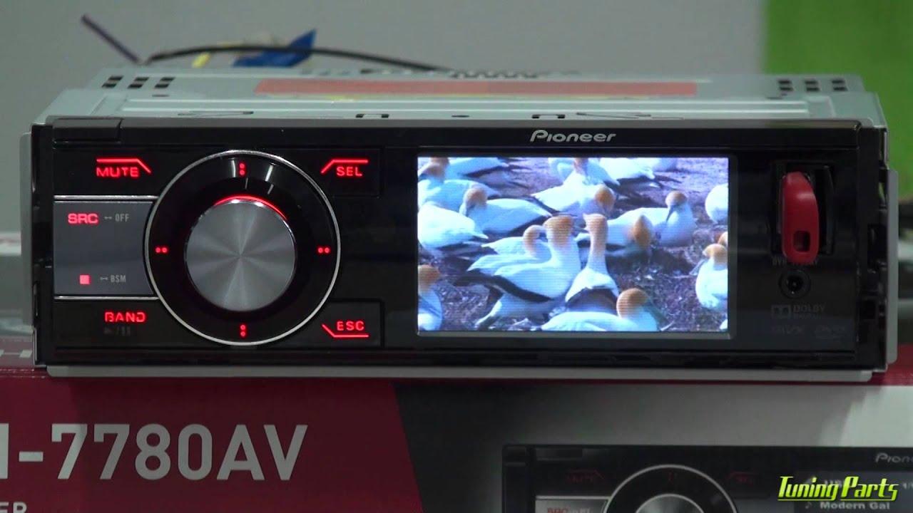 42df1a028dc03 DVD Automotivo Pioneer DVH-7780AV - YouTube