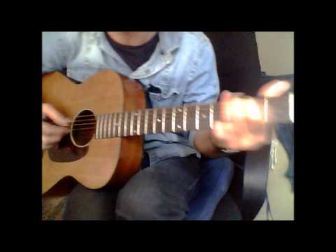 Open D Tuning DADF#AD - Acoustic Fingerstyle Shuffle, Harmony Acoustic guitar.