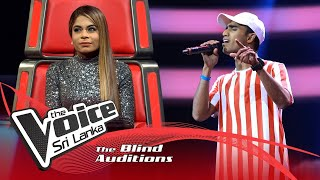Chalana Dilshan - Paradeese (පාරාදීසේ) | Blind Auditions | The Voice Sri Lanka Thumbnail