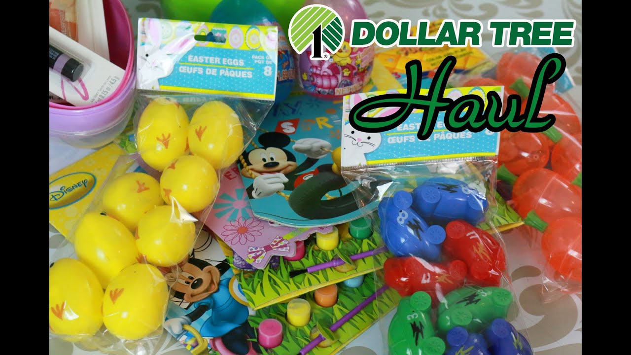Its a dollar tree haul easter eggs basket goodies youtube negle Gallery