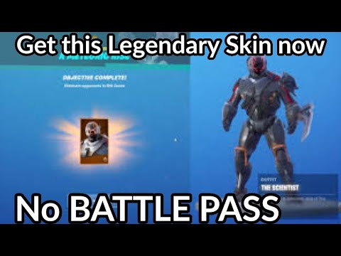 How to Get The Scientist Skin FREE without Battle Pass
