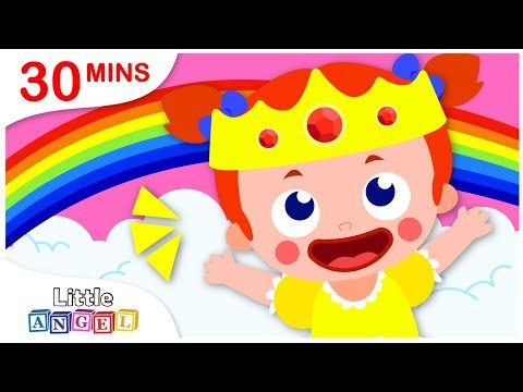 How To Be A Princess, Where is my Crown, Apples and Bananas   Nursery Rhymes by Little Angel