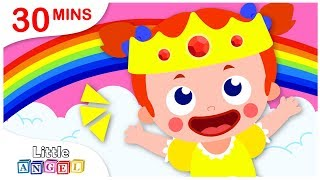 How To Be A Princess, Where is my Crown, Apples and Bananas | Nursery Rhymes by Little Angel