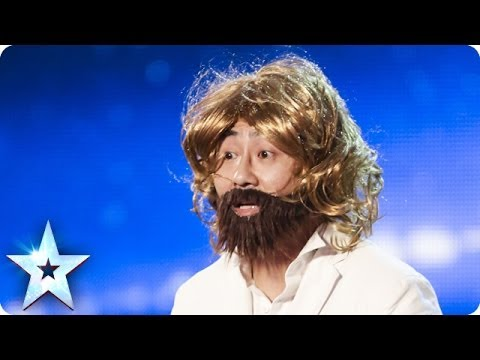 Comedy impersonations from Jenson Zhu | Britain's Got Talent 2014