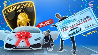 PRANK NA CURI: OSVOJIO SAM LAMBORGHINI! 😱 | Magic Leon & Mr. Mončina