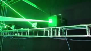 10 Watt Green Laser Light Show Projector