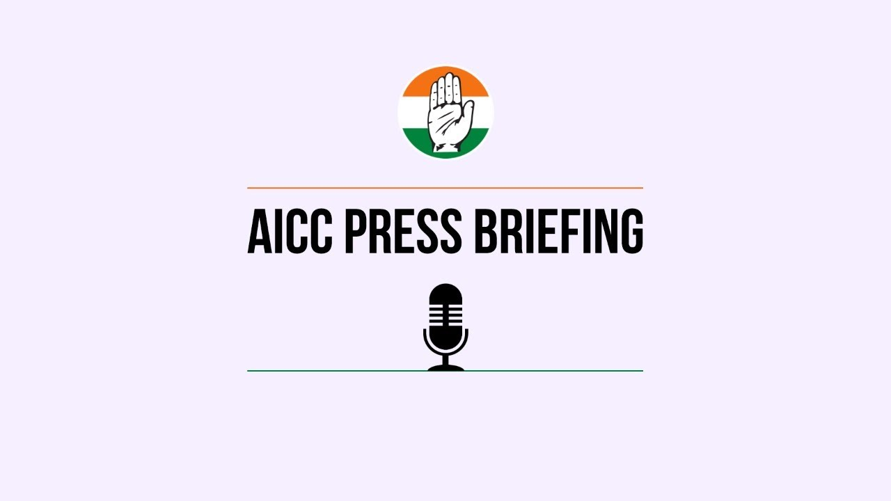 Download LIVE: Congress Working Committee Briefing by  KC Venugopal and  Randeep S Surjewala at AICC HQ