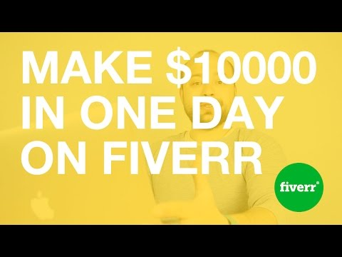 Can you make $10000 Designing Logos in One Day on Fiverr?