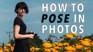 HOW TO POSE IN PHOTOS - 9 Tricks Pros Use to Look Perfect! thumbnail