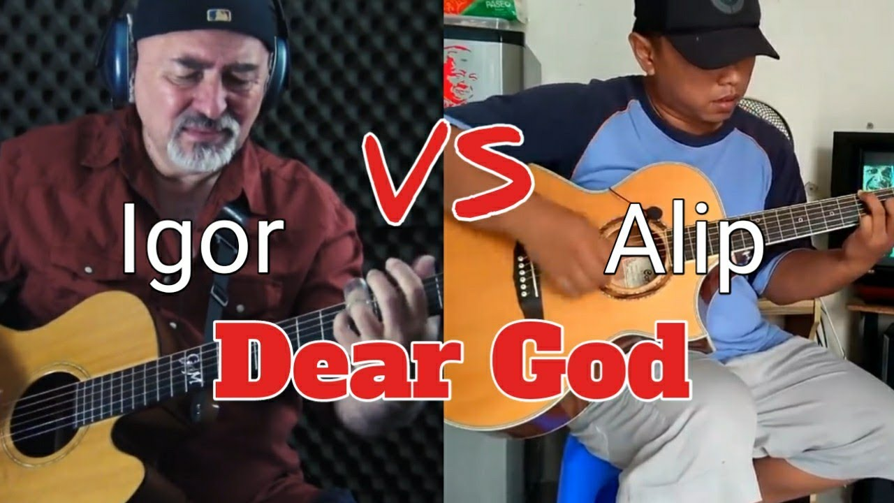Igor Presnyakov Vs Alip_ba_ta|DEAR GOD Fingerstyle|Who's the best?? image