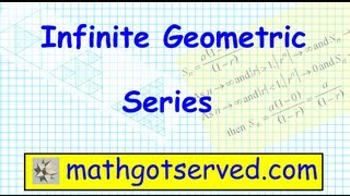prU8L5 Infinite Geometric Series