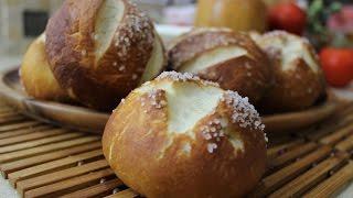 """Рецепт- Немецкие булочки-брецели  """"Laugenbrotchen"""""""