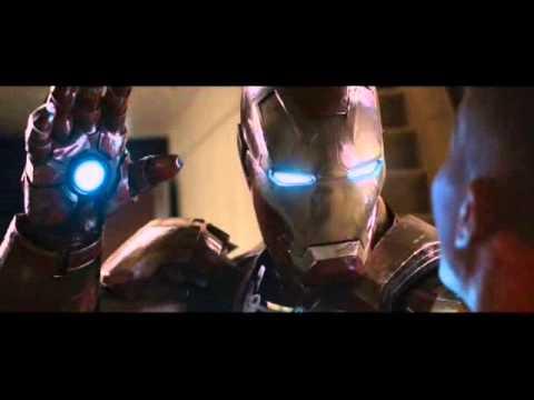 Iron Man 3 escena del rescate en el avión.