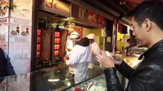 Kebab in Naschmarkt Vienna 21112015